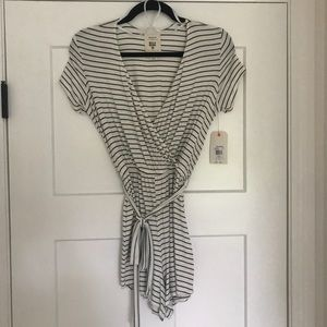 Billabong Striped Romper